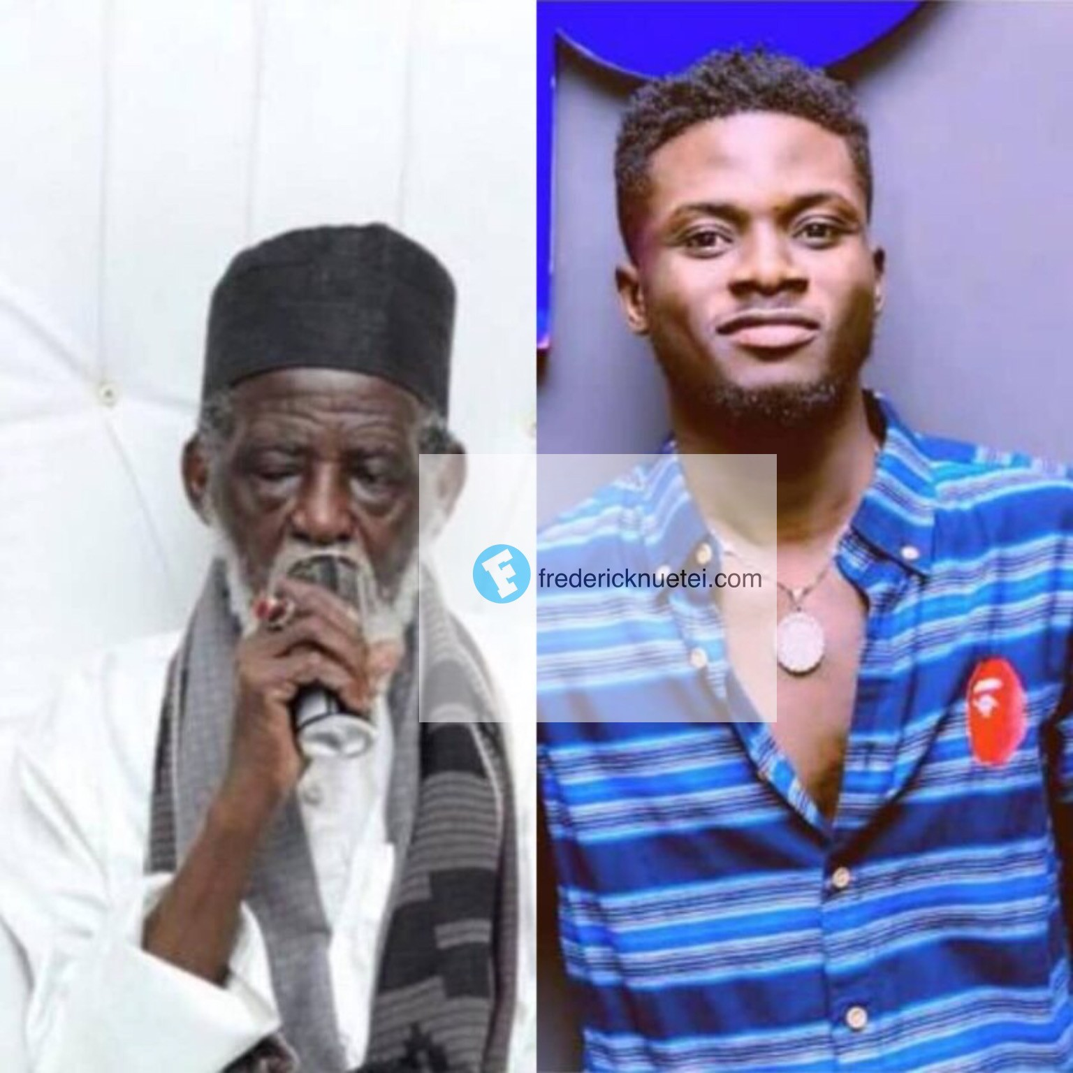 "National Chief Iman Endorses ""Kuami Eugene's"" Adonko Next Level Energy Drink"