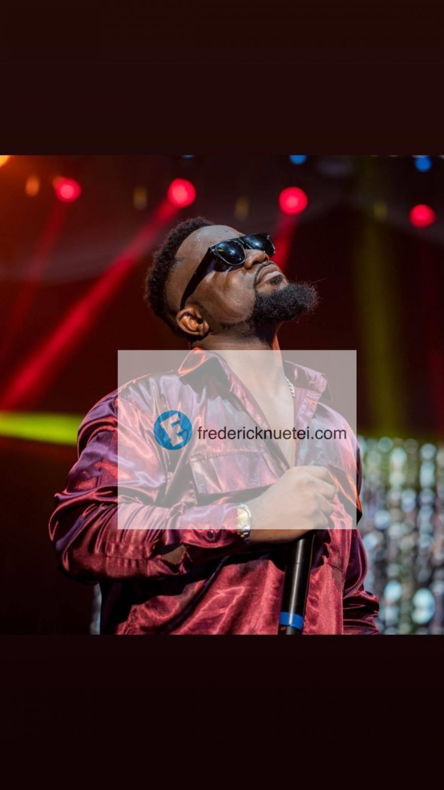 Sarkodie To Run For President In 2024?
