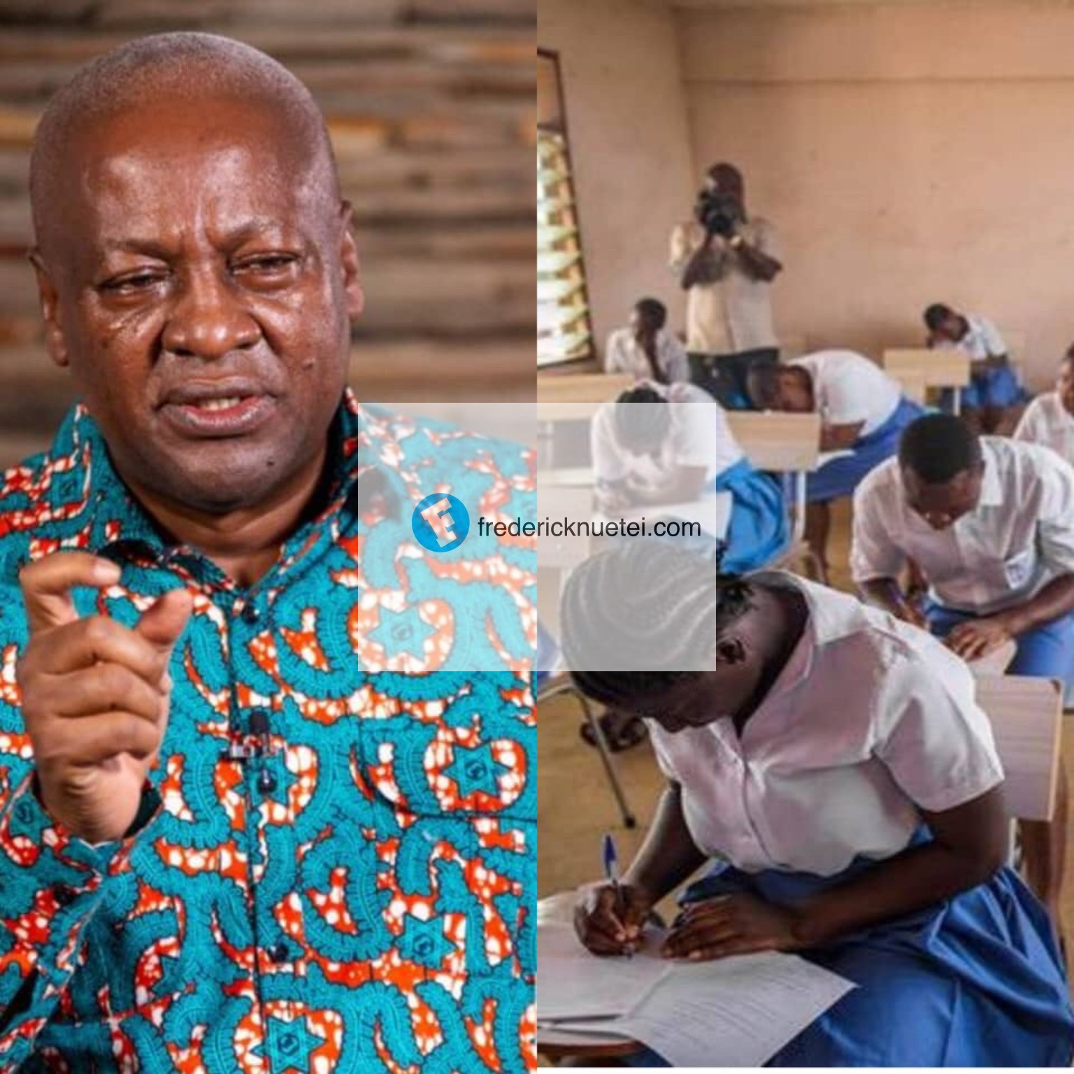 Be Assured That My Prayers And That Of Over 30 Million Ghanaians Will Stay With You Every Single Day Until The Examination Is Over - John Mahama To WASSCE Candidates