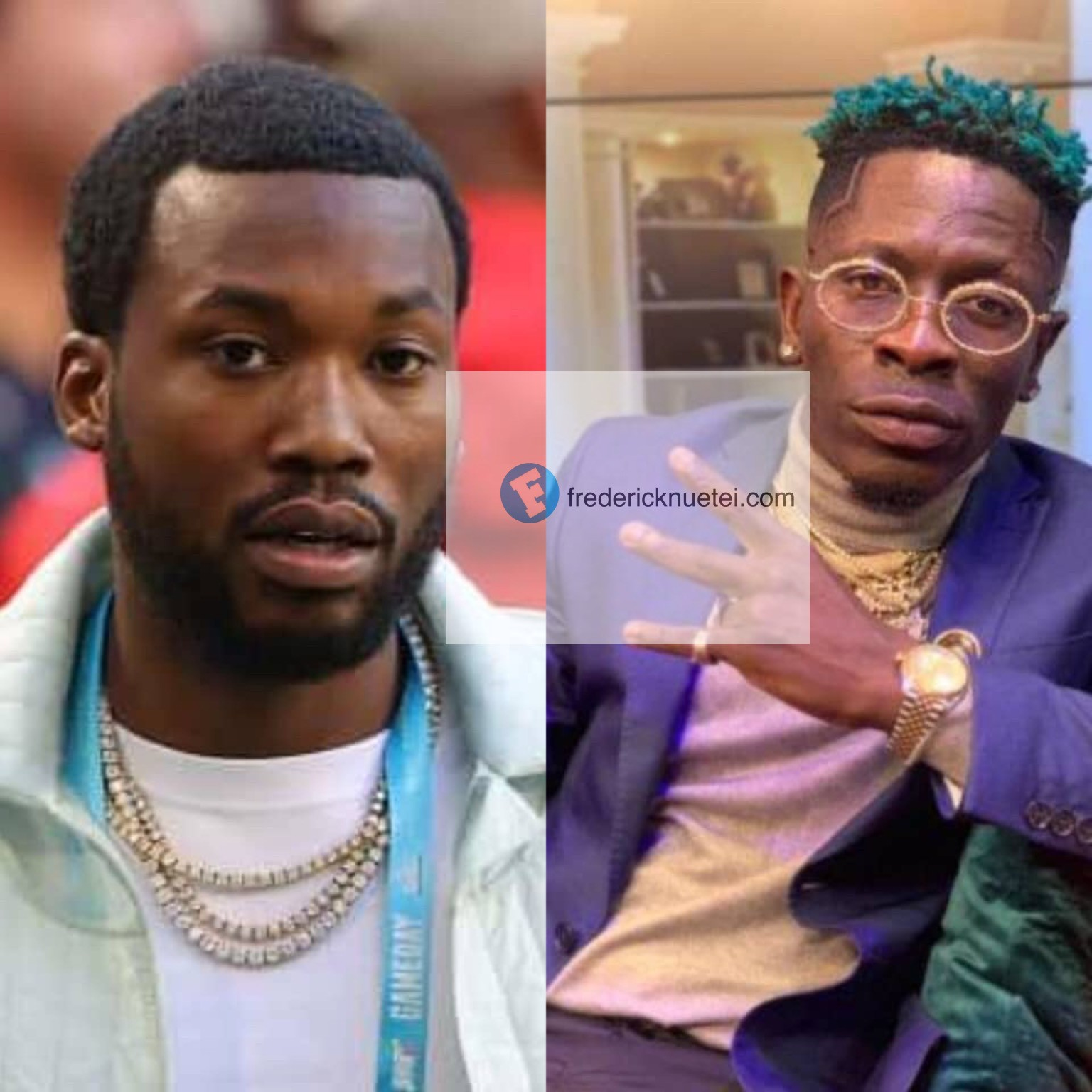 Shatta Wale Set To Release A Song With American Rapper Meek Mill