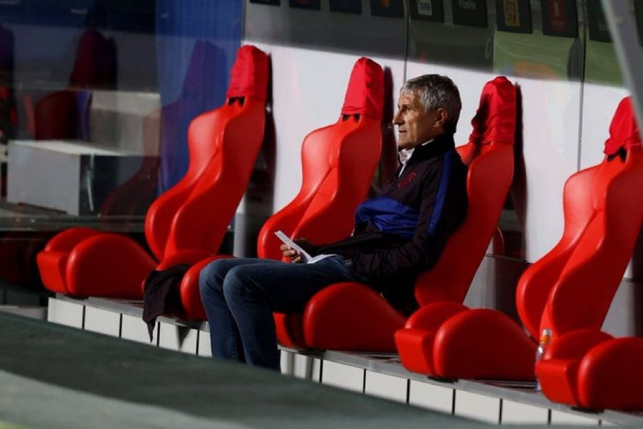 BREAKING NEWS: Barcelona Have Sacked Their Manager Quique Setien After Bayern Munich's Humiliation