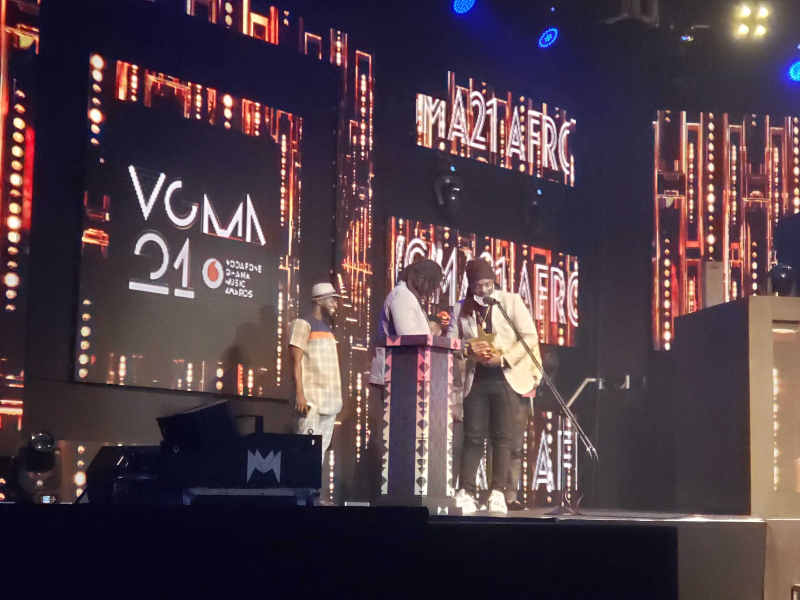#VGMA21: Dope Nation Wins Afrobeat Song Of The Year