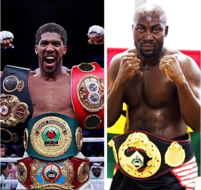 I Want To Fight Anthony Joshua - Richard Lartey (WBO CHAMPION)