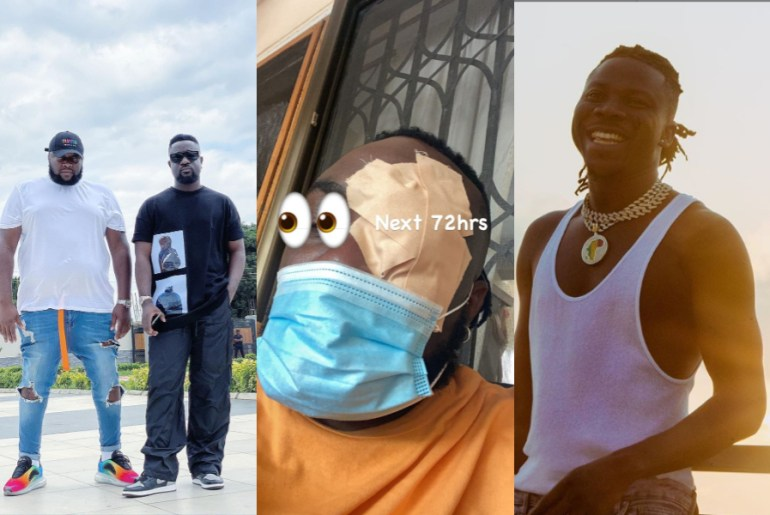 """Rapper Sarkodie Deletes Stonebowy's """"Black Love"""" Concert Flyer From His Instagram Page"""