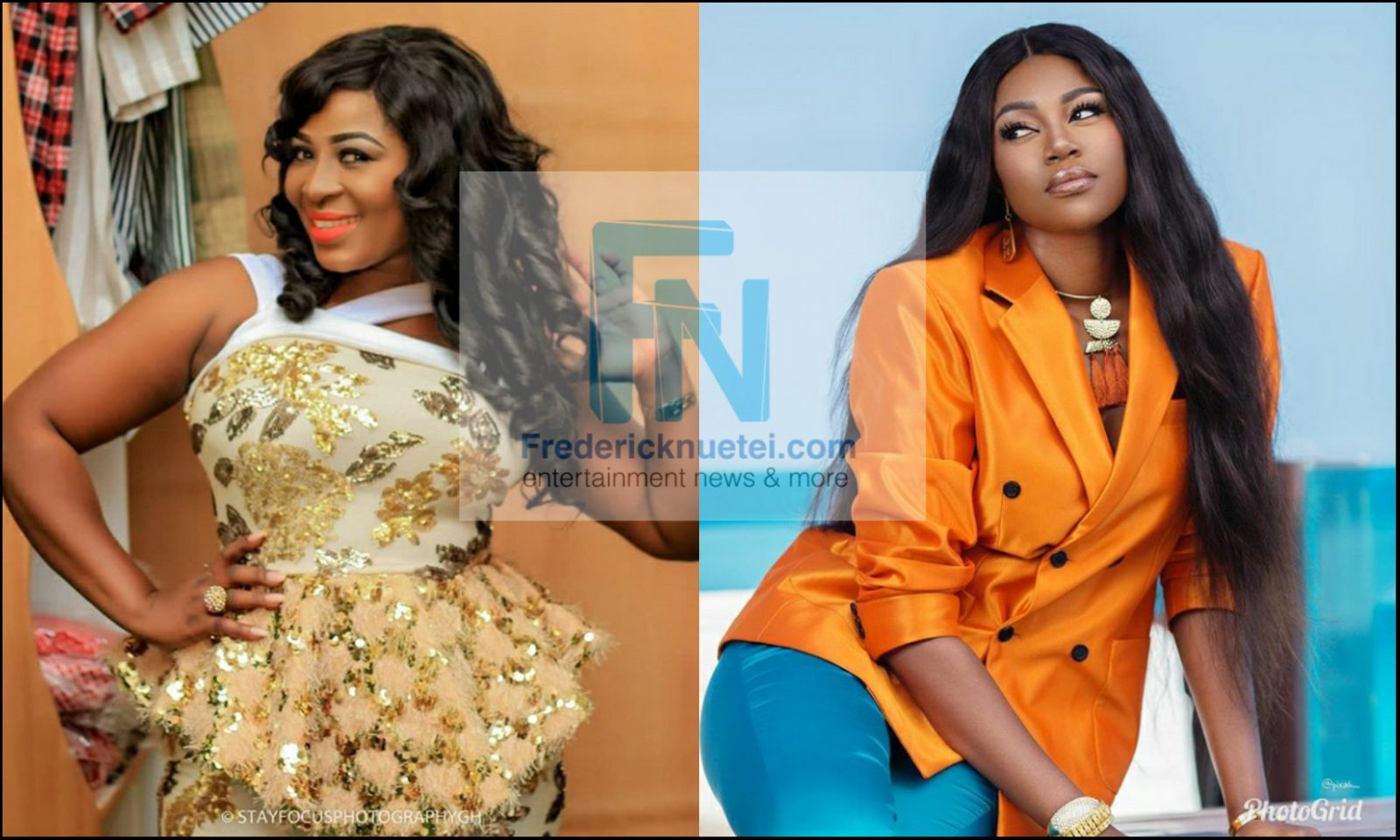 Actress Gloria Sarfo Shocked By Yvonne Nelson's Claims, Says It Is 'Strange'