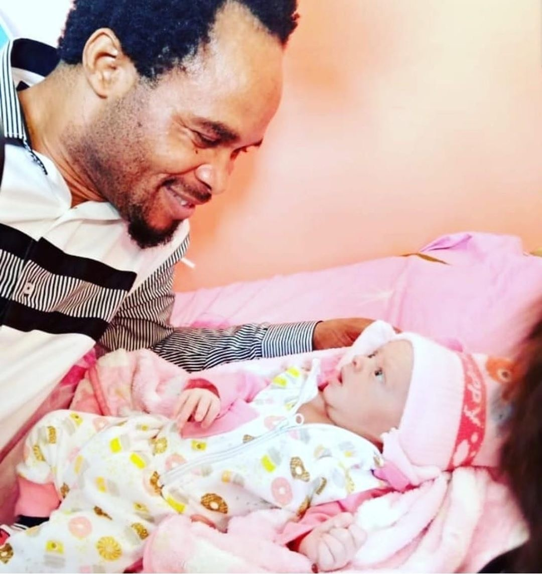 'Welcome To My Home Baby 5G' - Prophet Odumeje Announces Birth Of His Baby
