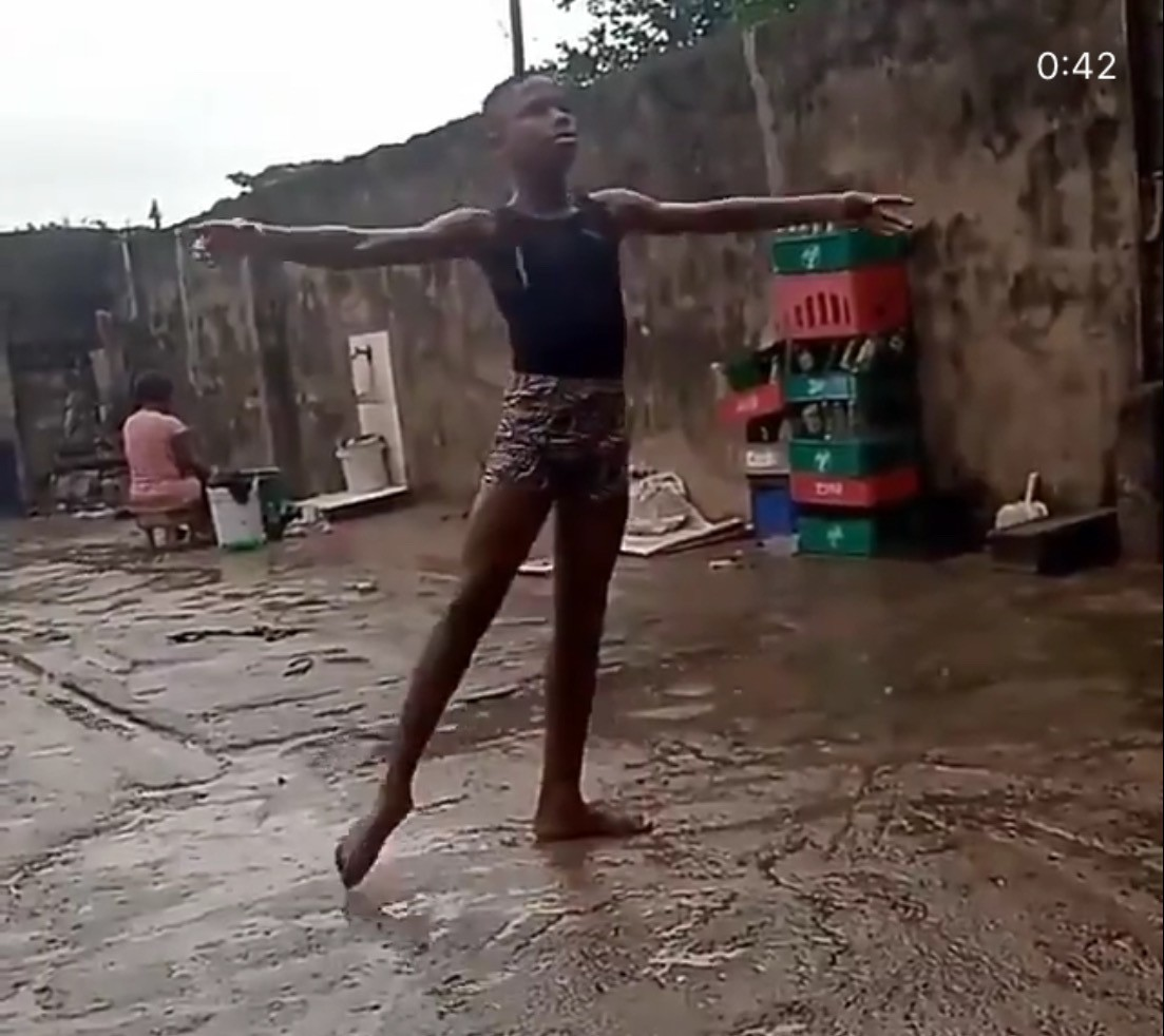 Nigerian Ballet Dancer, Anthony Madu Gets Scholarship By The American Ballet Theatre In New York After Video Of Him Dancing In The Rain Went Viral