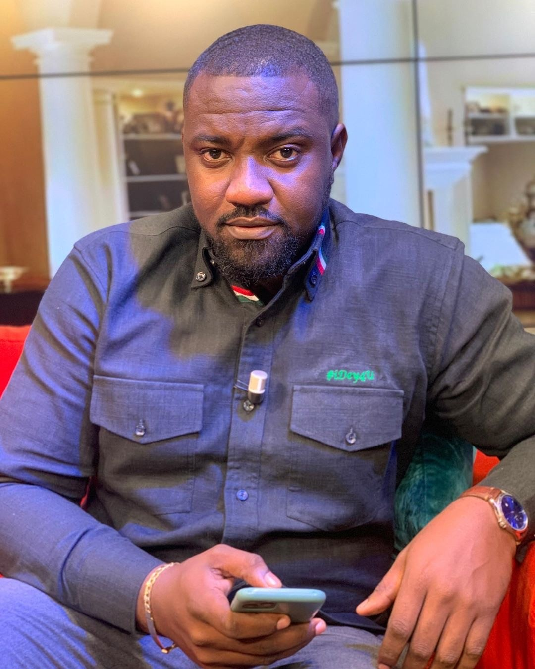I Have Always Been An NDC Member Because l Believe In Socialism - John Dumelo