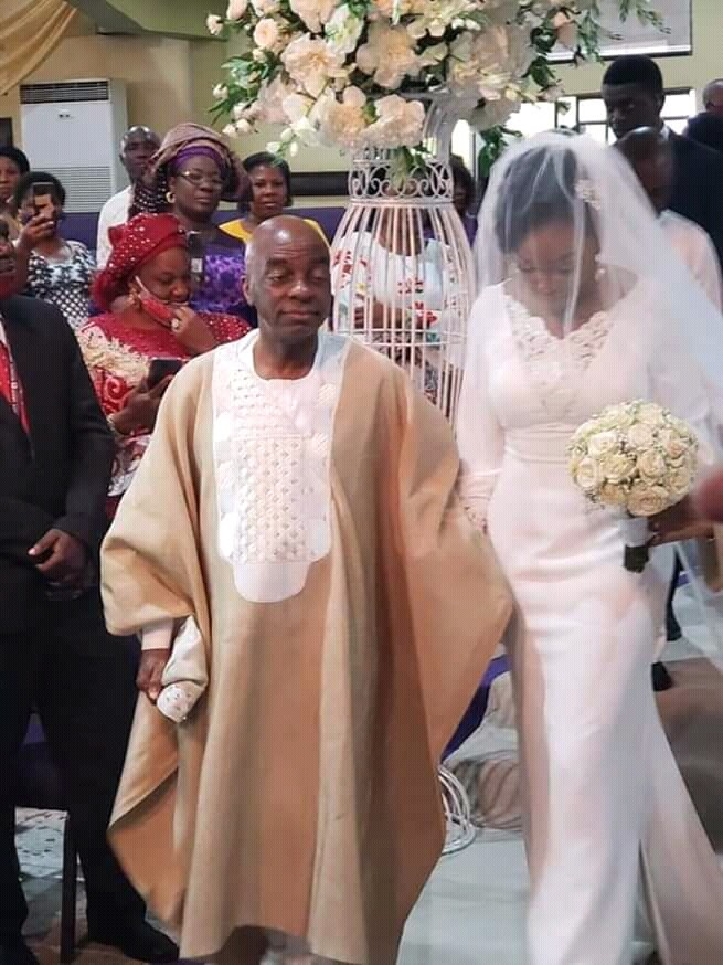 Photos And Video From Bishop Oyedepo's Daughter's Wedding