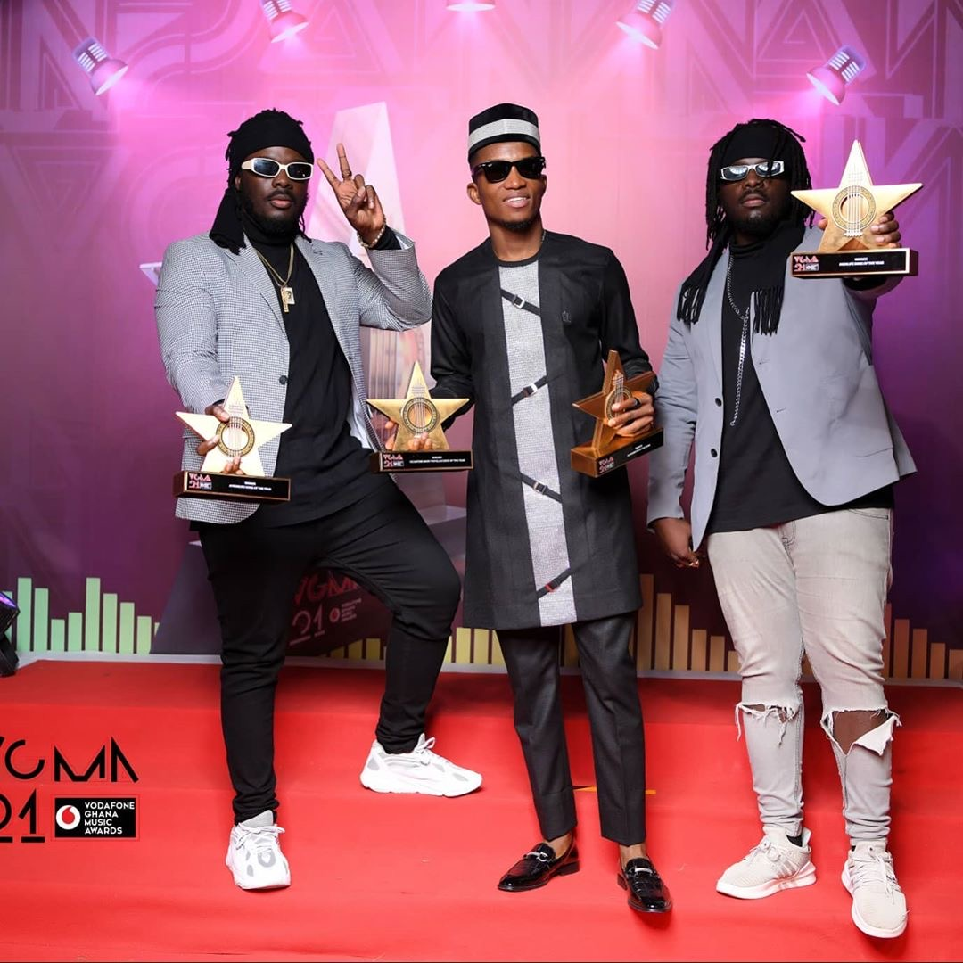 Full List Of Winners At This Year's Vodafone Ghana Music Awards #VGMA21