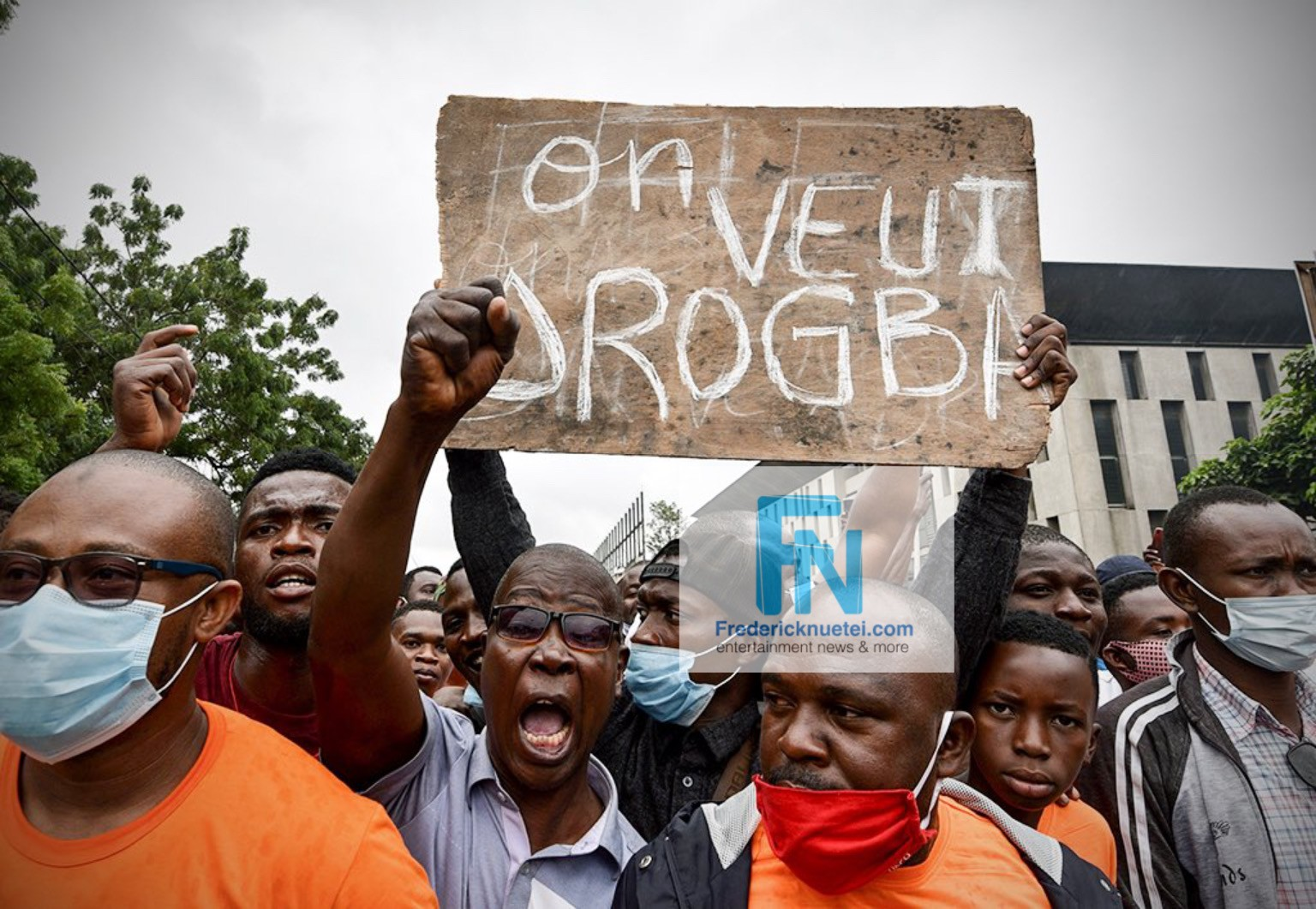 Didier Drogba Fans Troop Out To Support His Bid To Run For President Of The Ivorian Football Association