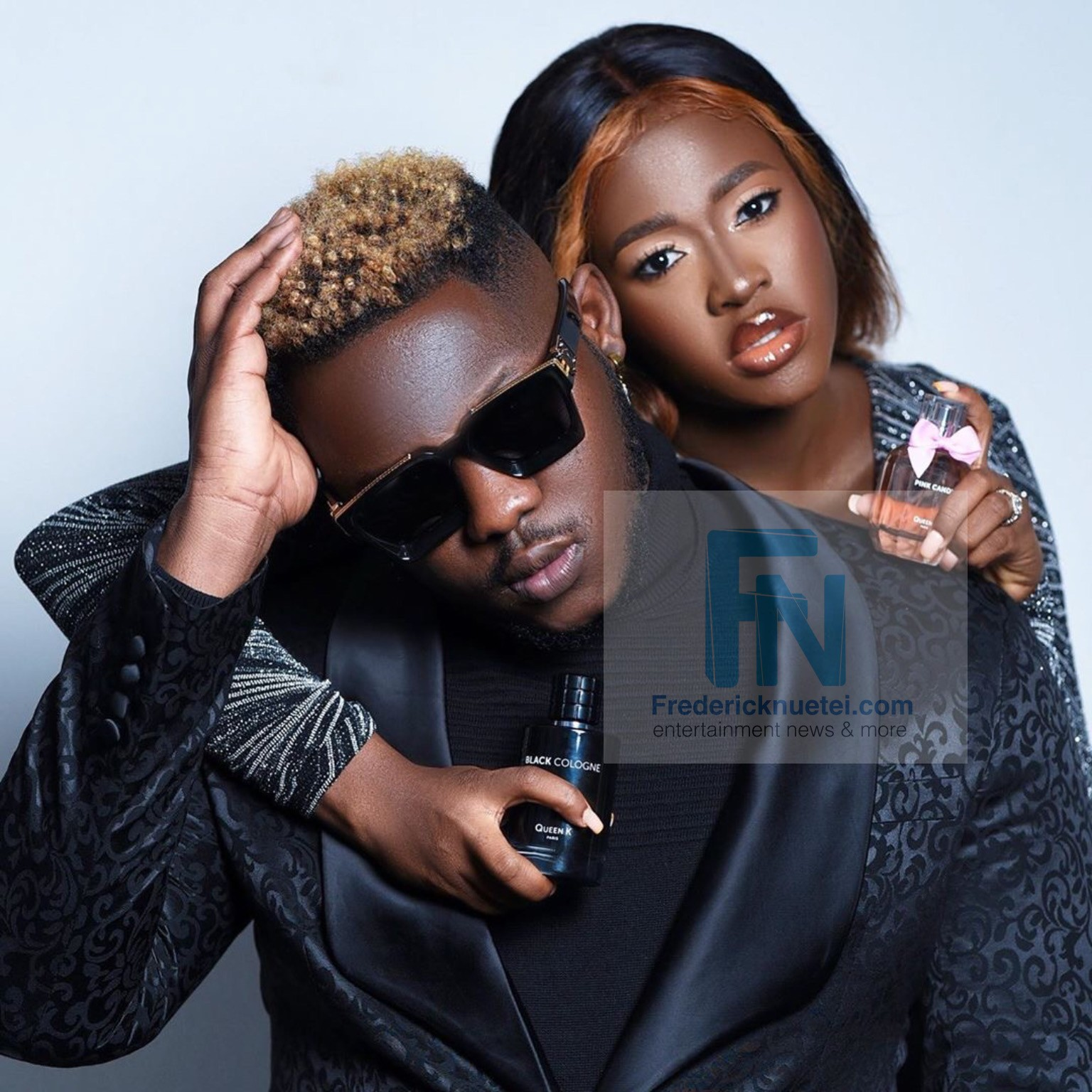 Medikal Confirms Fella Makafui's Pregnancy In A New Music Video 'Odo' Featuring King Promise