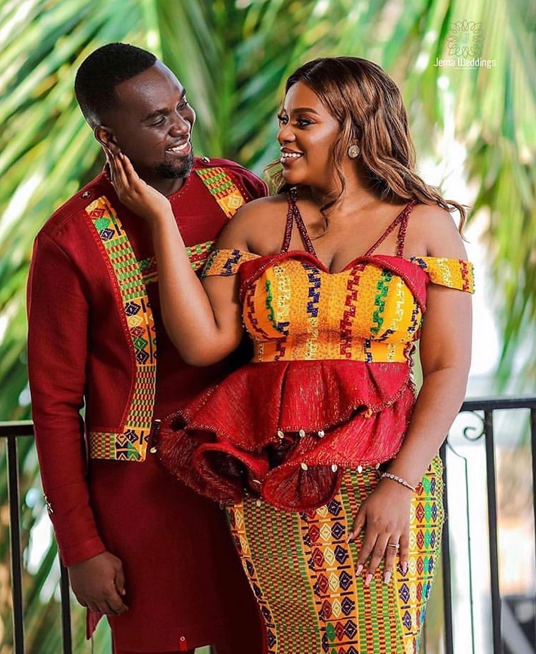 Here Are 8 Beautiful Photos From Joe Mettle And Selasie's Traditional Wedding