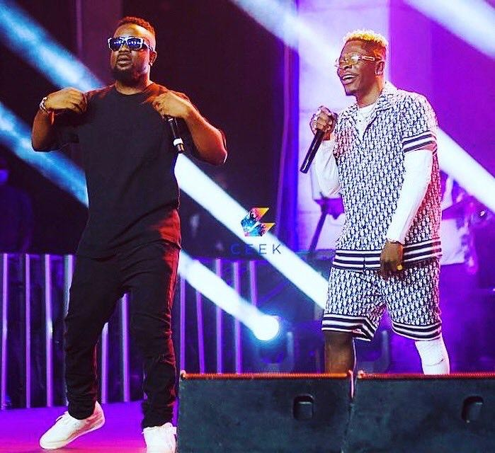 The Sarkodie And Shatta Wale Love Is Back As Both Perform On The Black Love Virtual Concert