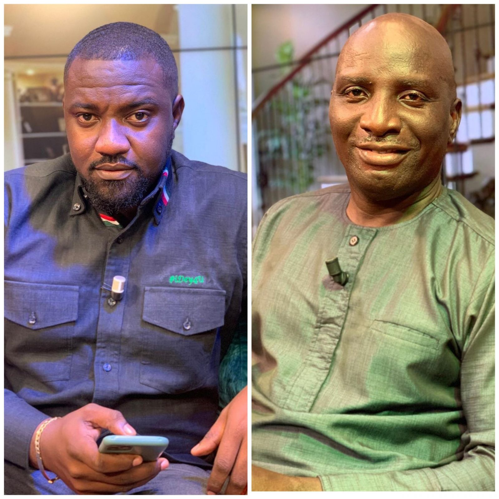 John Dumelo Subtly Jabs Socrates Sarfo For A Comment He Made