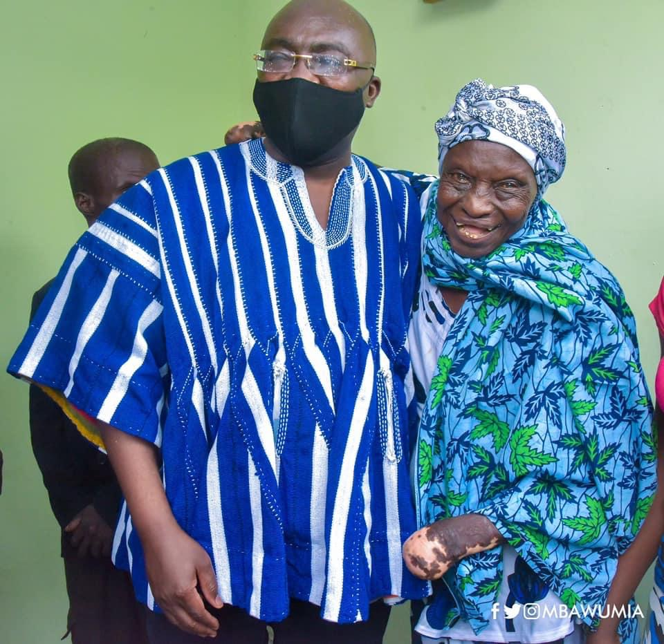 Vice President Dr. Bawumia Changes The Life Of An 82-Year-Old Woman