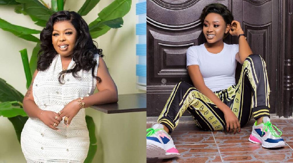 Afia Schwarzenegger Exposes Akuapem Poloo's Attention-Seeking Attitude