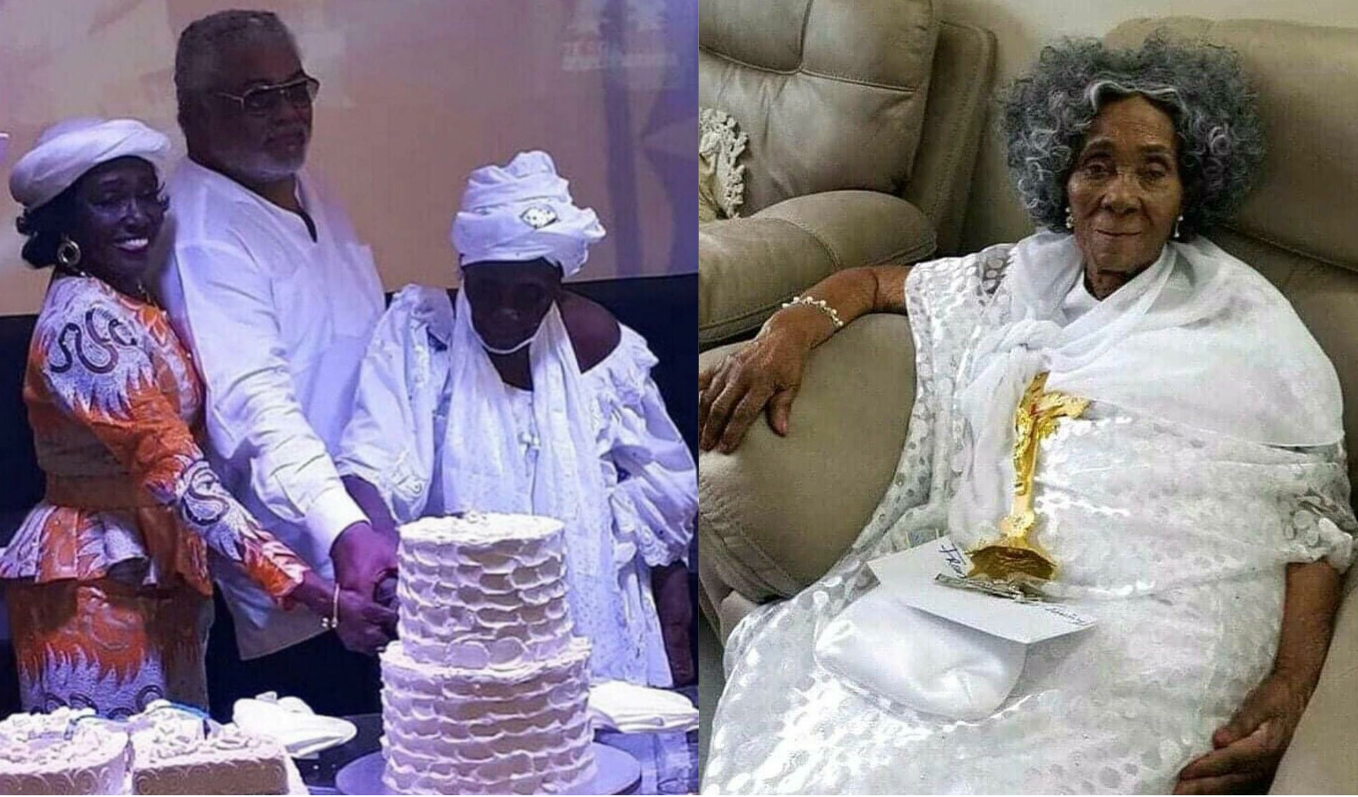 Madam Victoria Agbotui, Mother Of Former President JJ Rawlings Turns 101-Years-Old Today