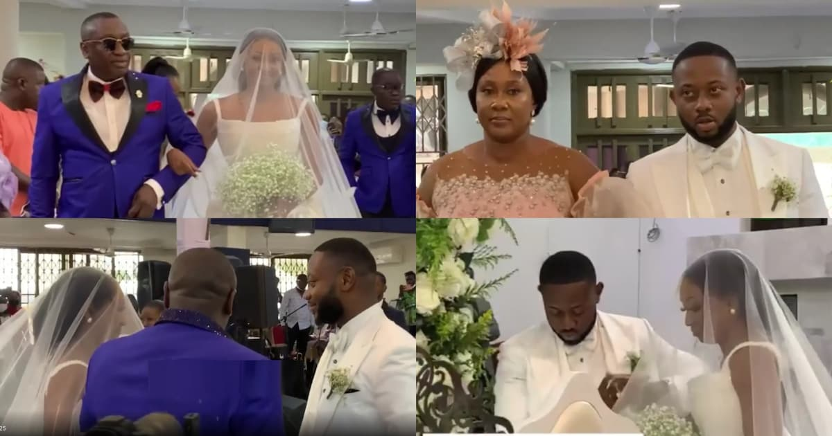 Dr. Ernest Ofori Sarpong's Daughter's Wedding, See Which Of Your Favorite Celebs Attended