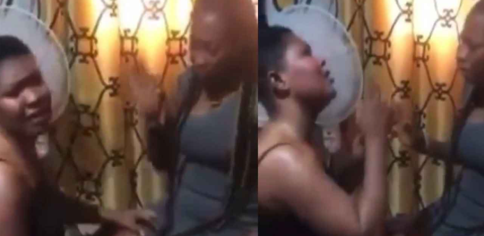 Ghanaian Lesbian Spotted Begging Her Partner Not To Leave Her In Viral Video