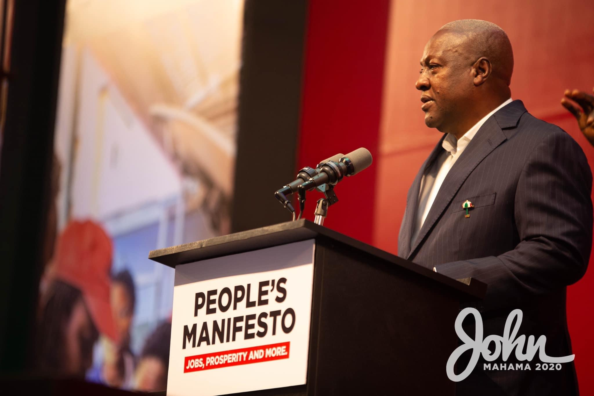Akufo-Addo Has Nothing To Show After Borrowing Gh140 Billion - John Mahama