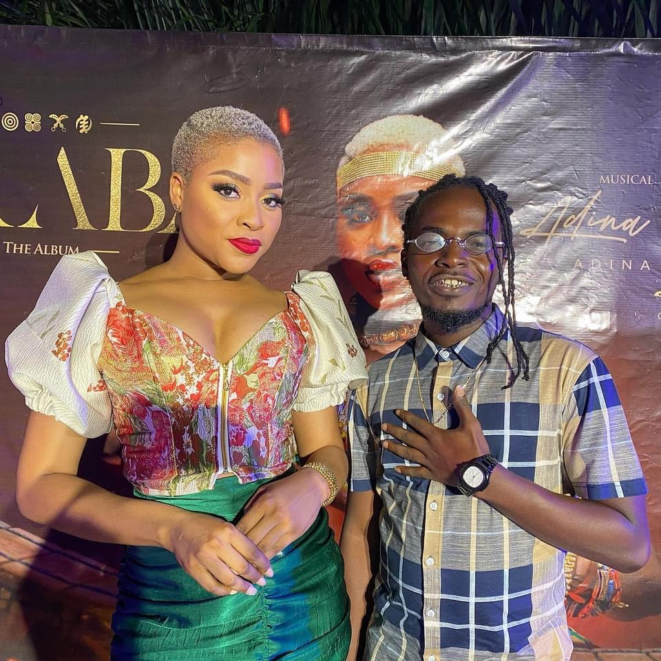 Real Kamelyeon Finally Meets Adina Thembi At Her 'Araba' Album Listening