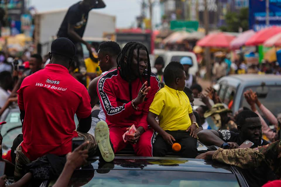 You Could Have Given Us More - Blind Fans Tells Stonebwoy