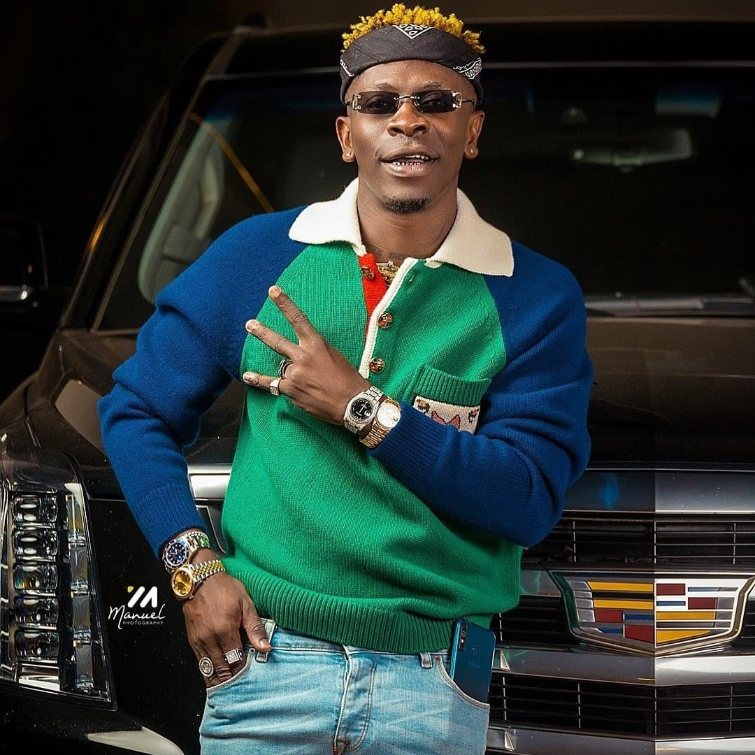 Shatta Wale Finally Explains Why Shatta Michy Did Not Attend His Birthday Party