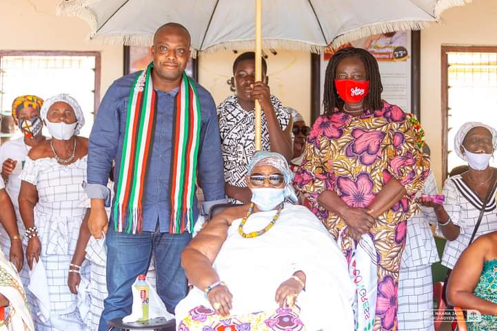We'll Support You With Our Witchcraft - Akwamu Queen Mother Promises NDC Running Mate Prof. Jane Naana Opoku-Agyemang