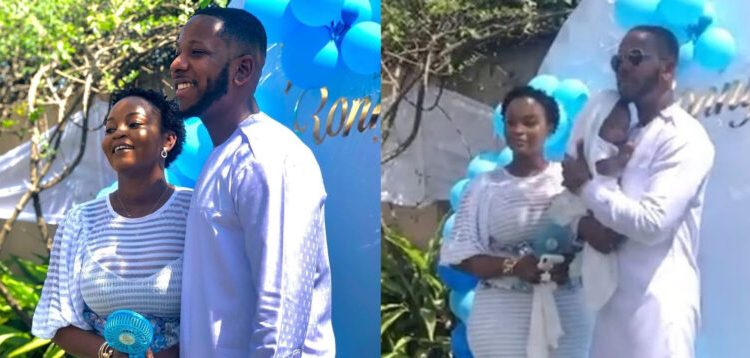 Photos And Video's From Yolo Actor Aaron Adatsi's Naming Ceremony