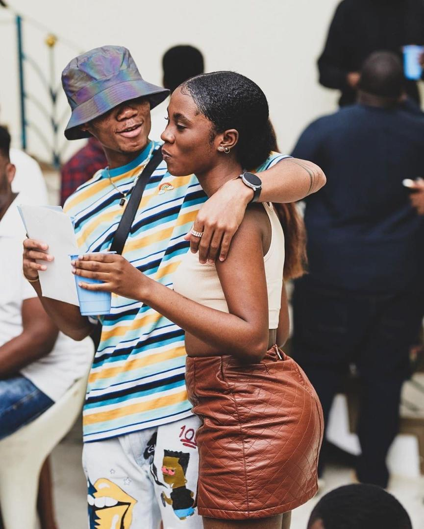 I rate my kiss twenty over ten - Kidi says as he disagrees with Cina Soul saying his kiss in the 'Sugar' movie set is average