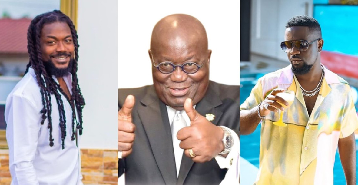 President Akufo-Addo Finally Reacts To Samini And Sarkodie's Endorsement Songs