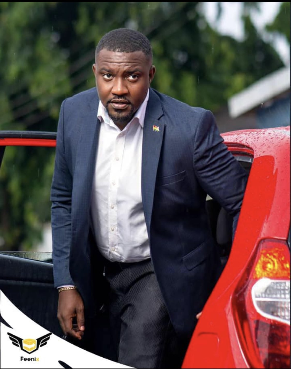 John Dumelo Campaigns On A Bicycle; Video Drops