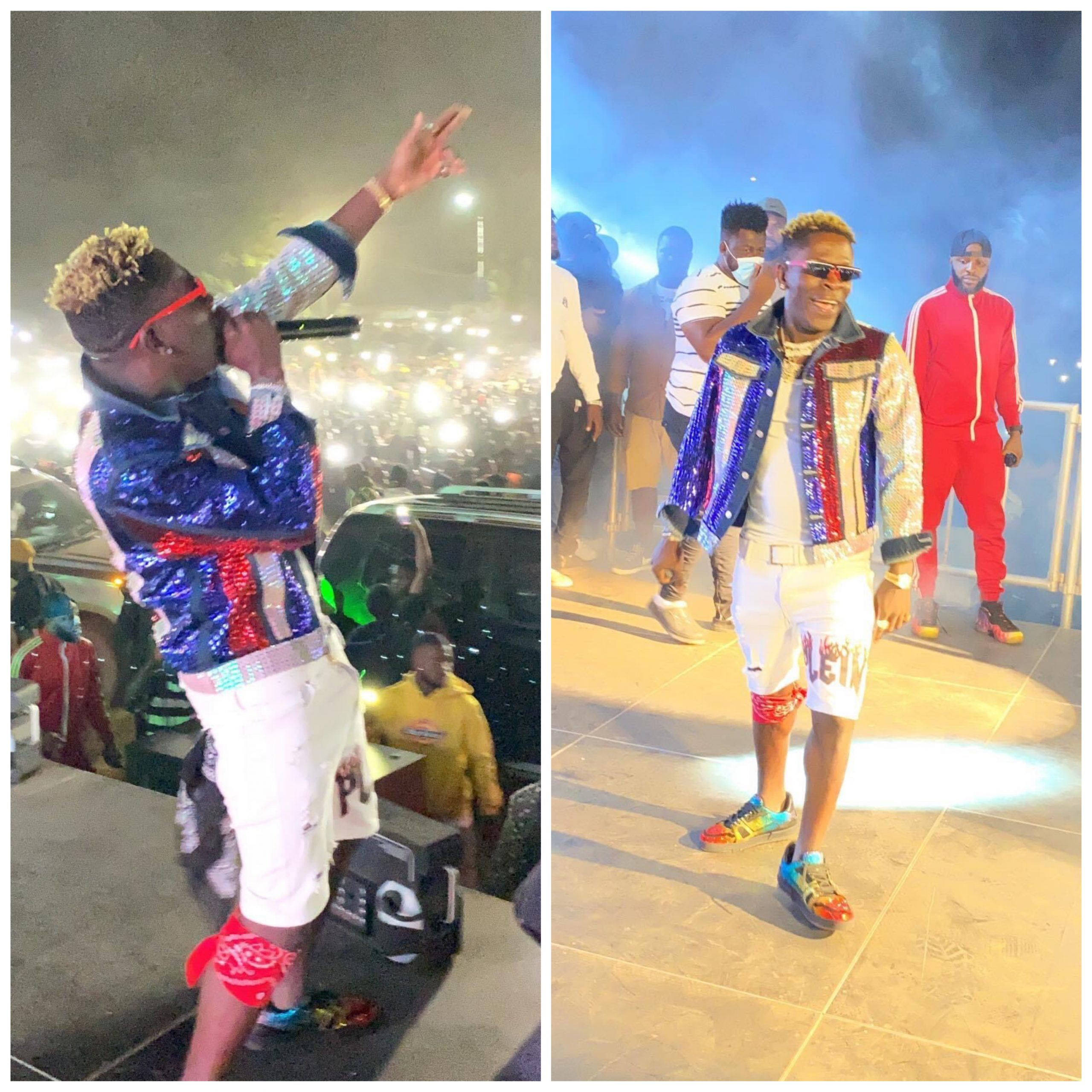 , Shatta Wale performed 'Hajia Bintu' for the first time at Hon. Peter Amewu's victory party (video), Frederick Nuetei