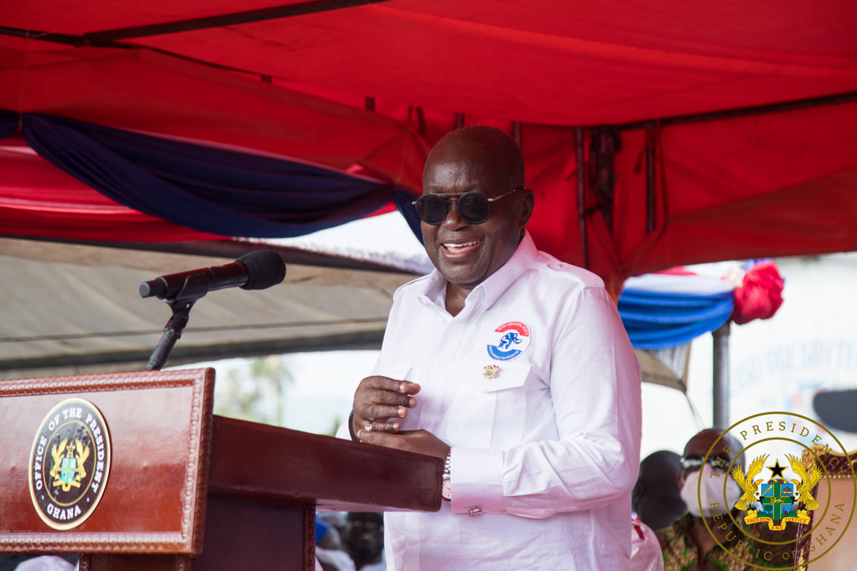 """The NPP and the NDC must work together especially in parliament in the interest of the nation"" - President Akufo-Addo"