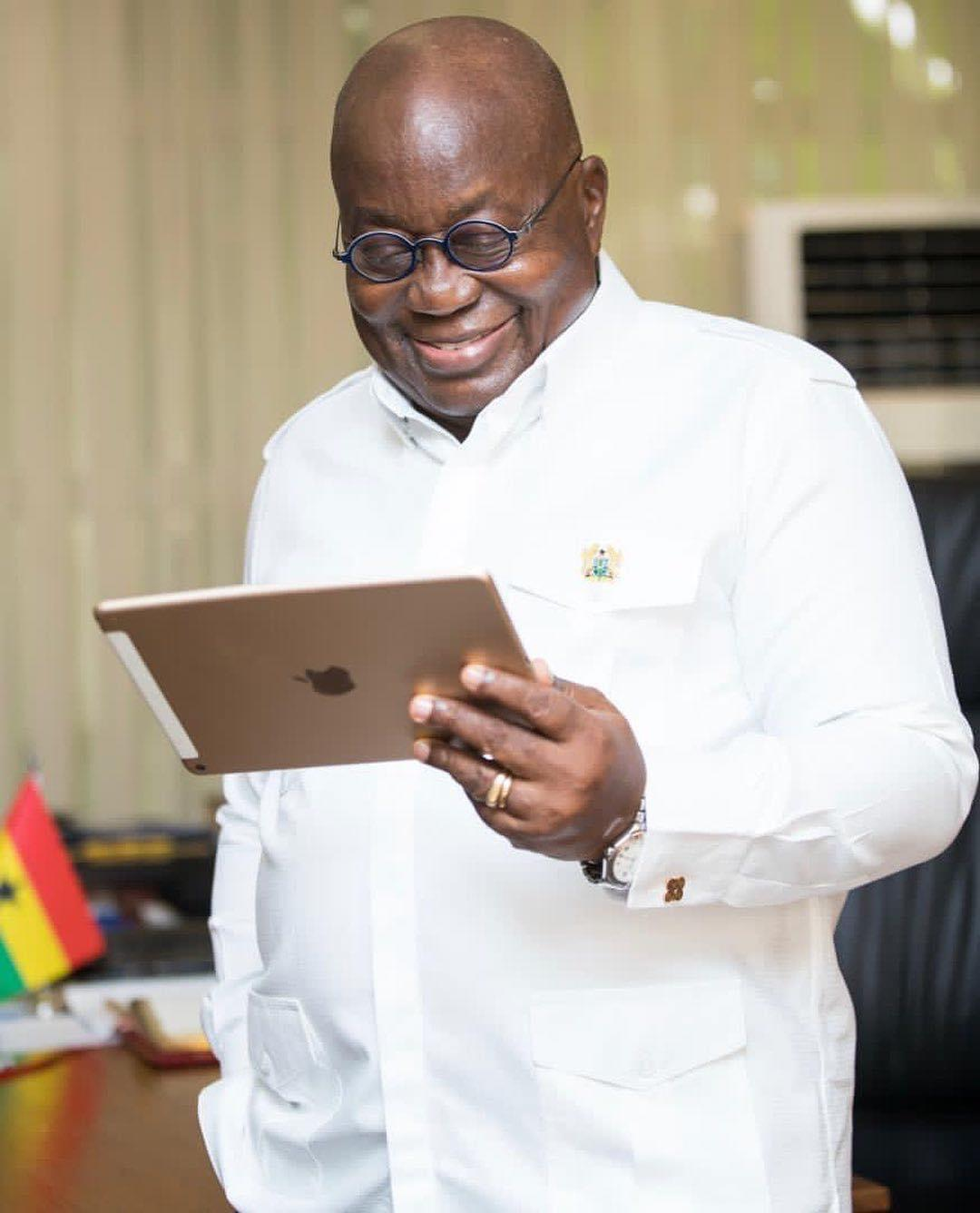 Just In: Nana Akufo-Addo declared President for a second term in office