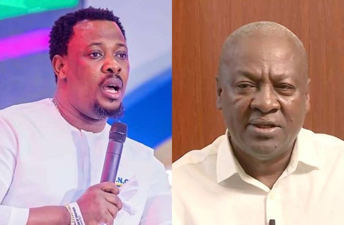 John Mahama is winning one touch - Nigel Gaisie