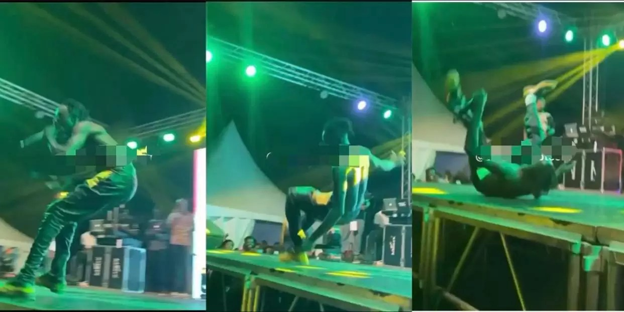 , Lilwin falls on stage at Fameye's 'The Family Concert' (video), Frederick Nuetei