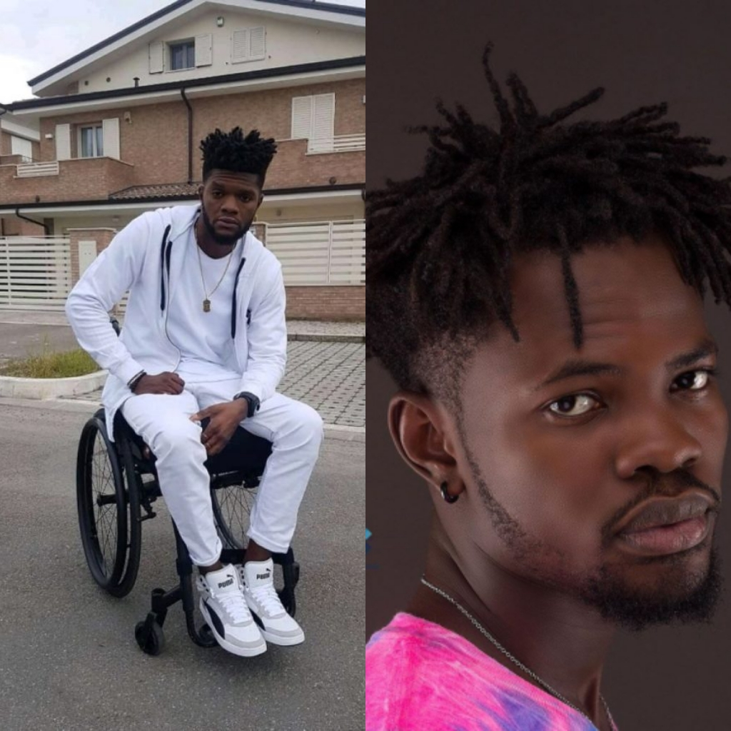 """, """"Am in pains, l give you two weeks Fameye. I swear my wheelchair"""" – Ogidi Brown to Fameye, Frederick Nuetei"""