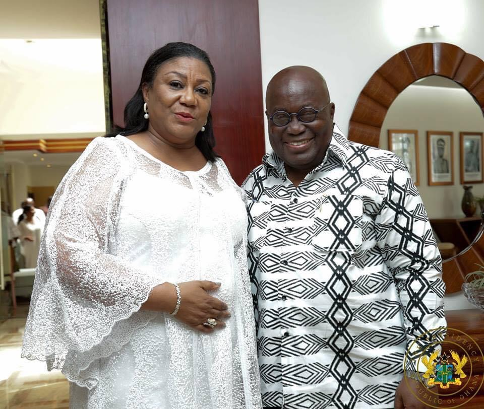 , First lady sends lovely message to President Nana Akufo-Addo as he turns 77, Frederick Nuetei