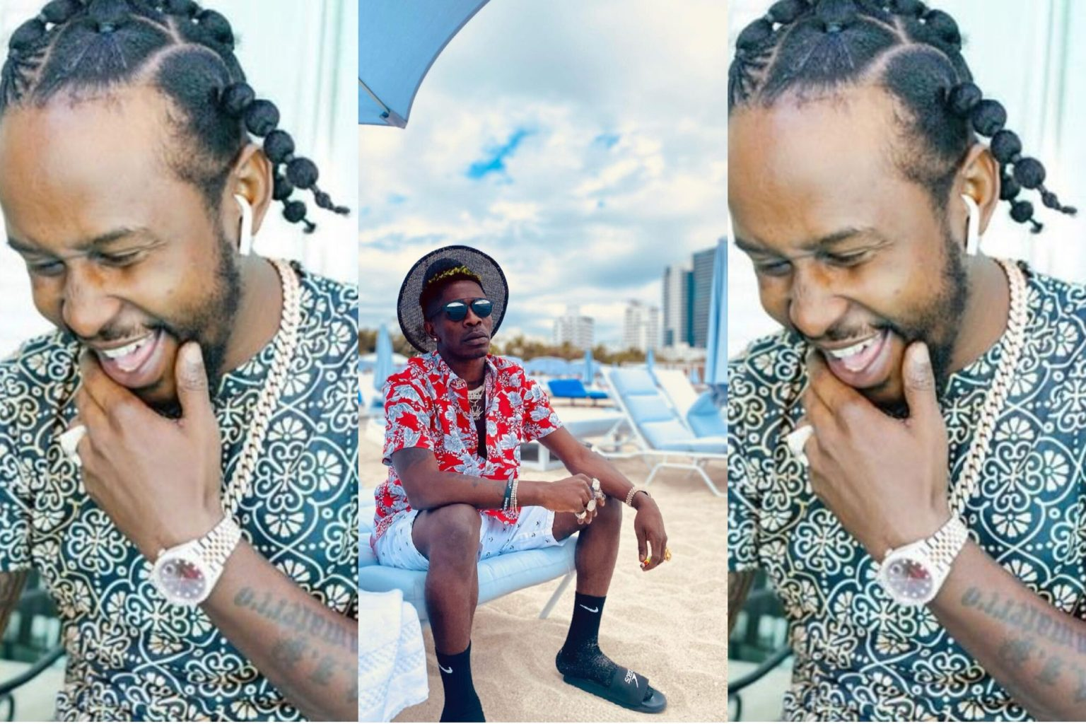, Popcaan calls Shatta Wale for a collaboration, Frederick Nuetei
