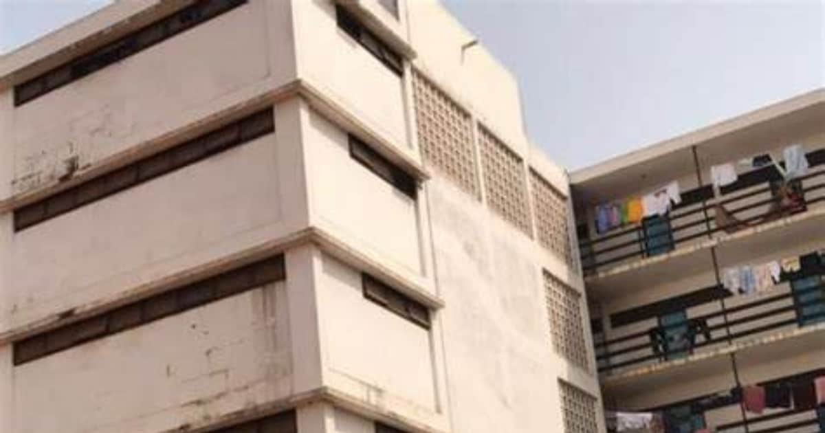 , Watch: Legon student feared dead after falling from 4th floor of Mensah Sarbah Hall, Frederick Nuetei