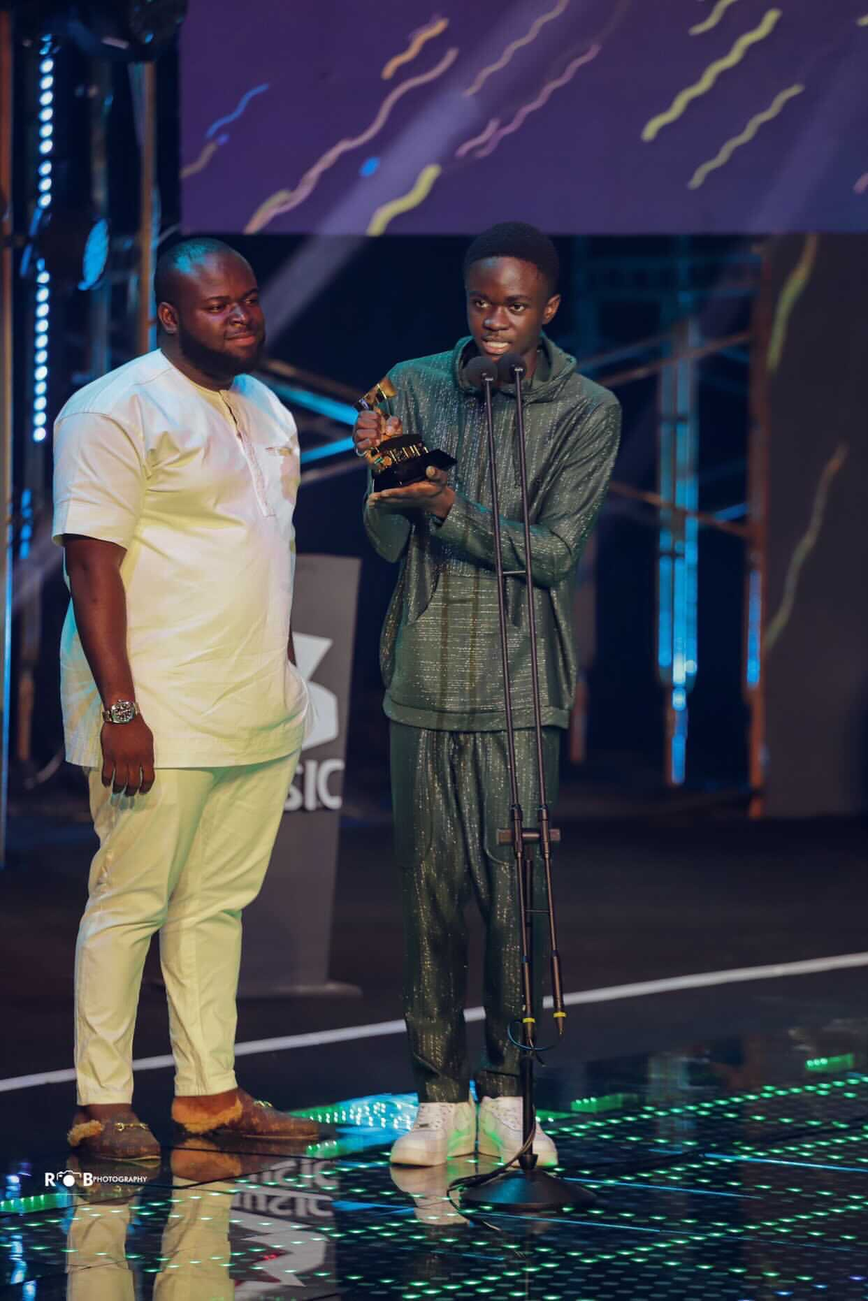 , BET International announces Yaw Tog as Amplified International Artiste of the month, Frederick Nuetei
