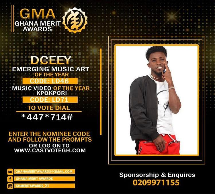 , DCEEY bags 2 nominations at Ghana Merit Awards (GMA), Frederick Nuetei