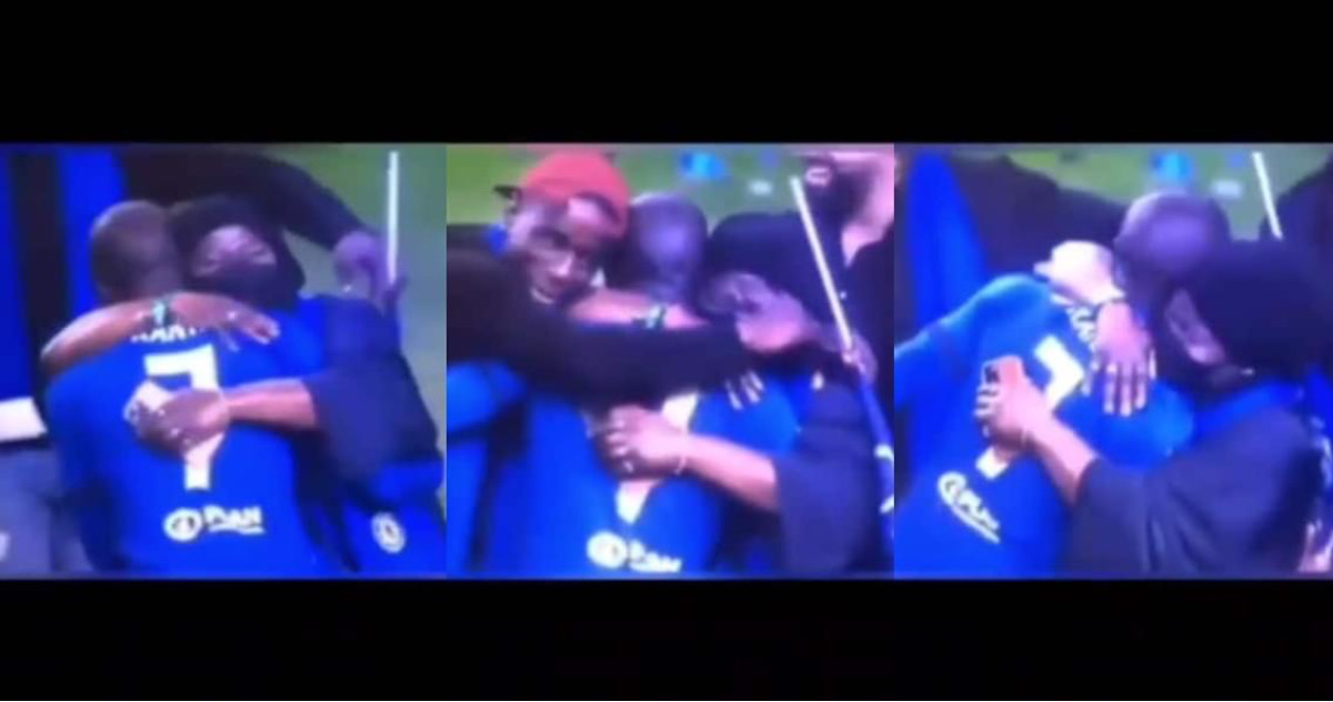 , Ngolo Kante's mother crying while hugging son over Chelsea's UCL victory stirs emotions, Frederick Nuetei