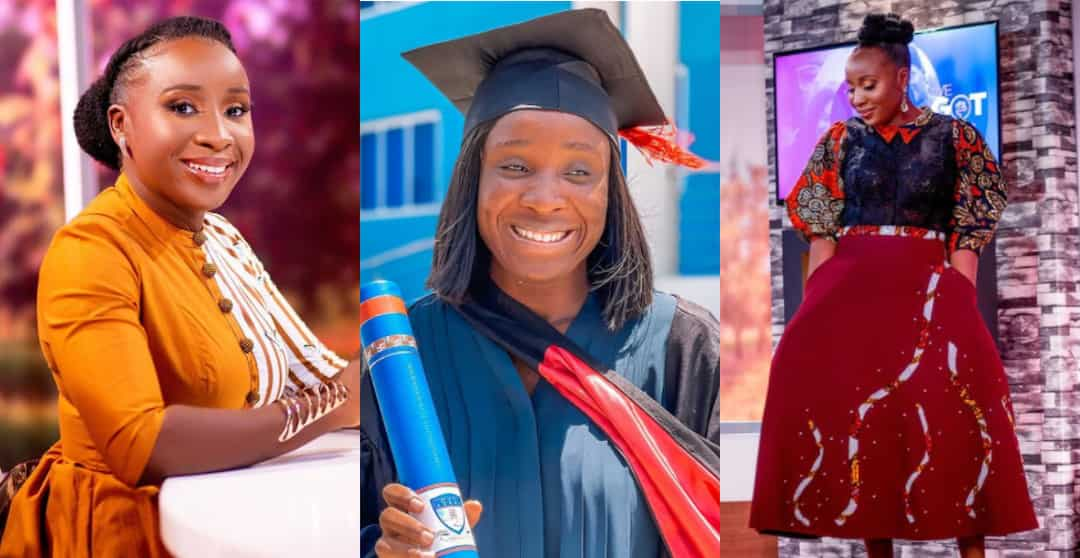 , Naa Ashorkor earns master's degree in Public Relations, Frederick Nuetei