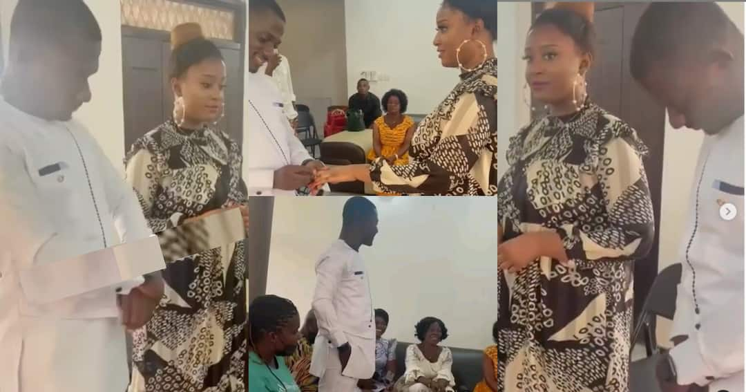 , Zionfelix: Traditional wedding video of blogger hits the internet; the lady is not his girlfriend Minalyn, Frederick Nuetei