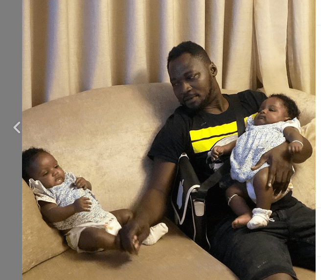 , Funny Face announces another set of twins with a different lady, Frederick Nuetei
