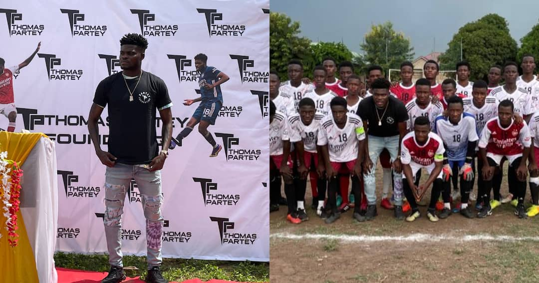 , Thomas Partey finally opens up on reason for setting up foundation, Frederick Nuetei