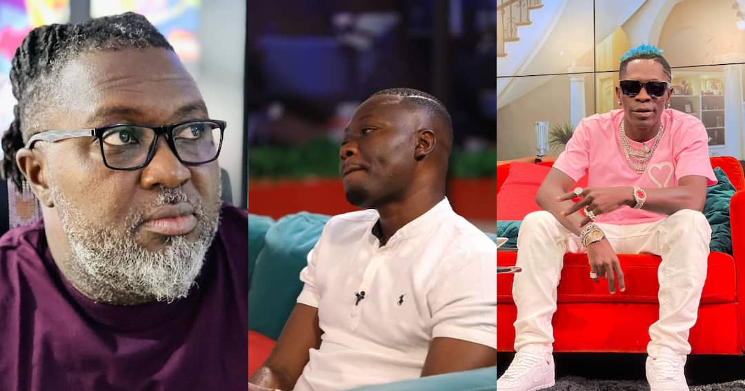 , Da Hammer and Arnold Asamoah exchange words over 'confused' Shatta Wale comment, Frederick Nuetei